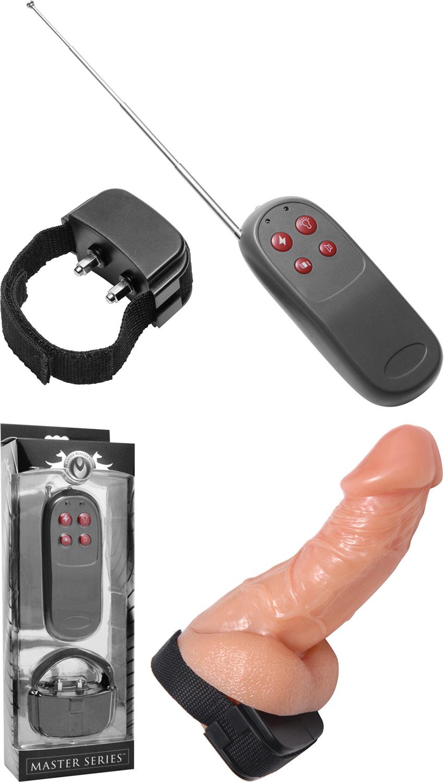 Vibrierender und elektrostimulierender Penisring Cock Shock
