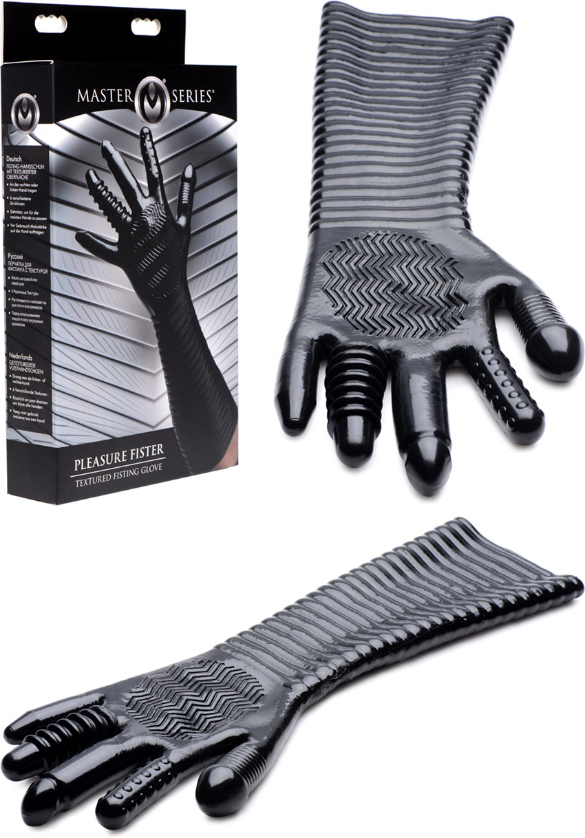 Long gant stimulant pour fisting Master Series Pleasure Fister