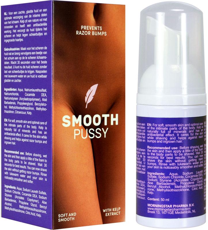 Schiuma per rasatura per l'area intima Smooth Pussy - 50 ml