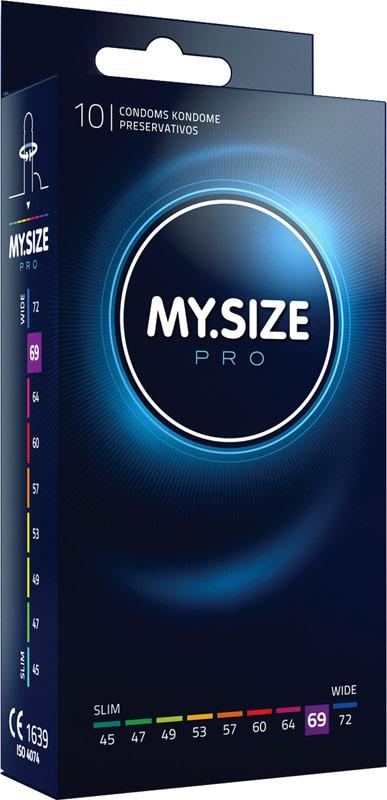 Preservativi su misura My Size Pro - Misura 69 (10 Preservativi)