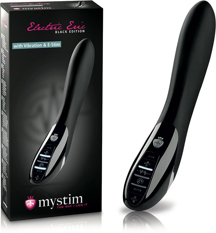 Électro-Vibromasseur Mystim Electric Eric (Black Edition)