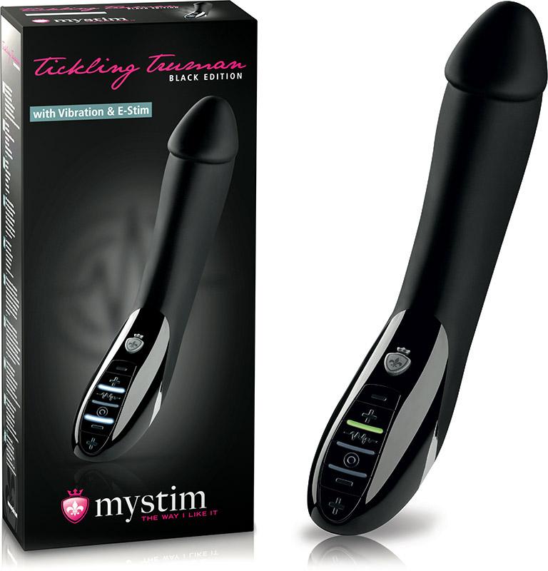 Électro-Vibromasseur Mystim Tickling Truman (Black Edition)
