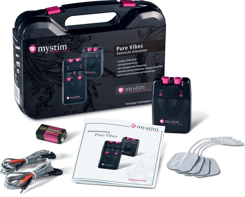 Électrostimulateur Mystim Pure Vibes