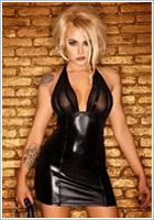 Noir Handmade Clubwear F058 mini dress - Black (M)