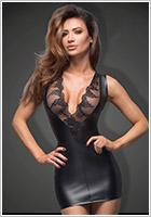 Noir Handmade Power Wetlook F168 Dress - Black (S)