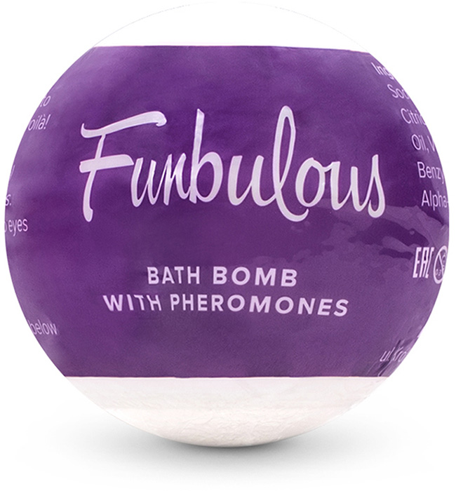 Obsessive Funbulous Bath Bomb with pheromones
