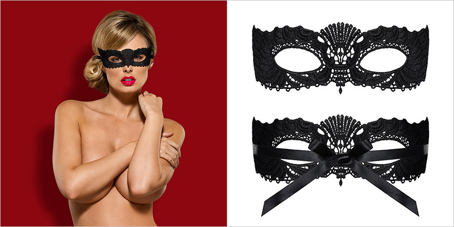 Obsessive Masque pour les yeux A700 - Noir