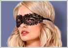 Mascherina per gli occhi A710 Obsessive - Nero