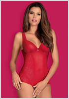 Obsessive Rougebelle Body - Red (S/M)