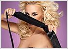Obsessive satin blindfold - Black