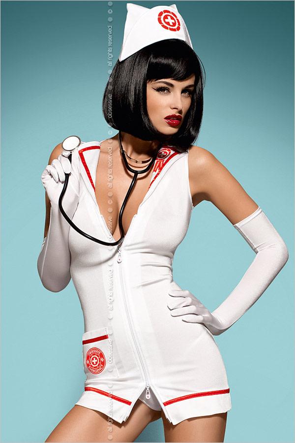 Obsessive Costume da infermiera sexy Emergency (S/M)