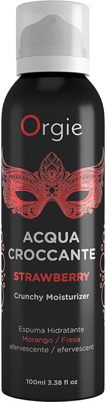 Orgie Acqua Croccante hydrating foaming mousse - Strawberry