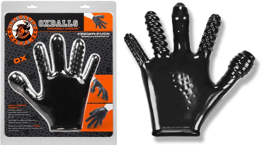 Oxballs FingerFuck Handschuh für die anale/vaginale Stimulation