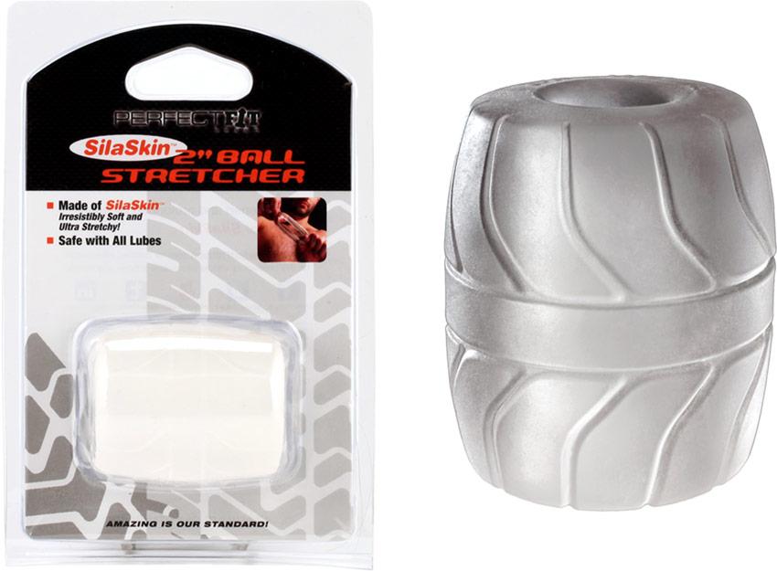 Etireur de testicules PerfectFit Ball Stretcher - Transparent