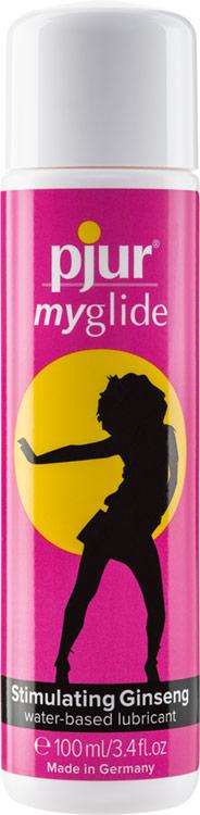 pjur myglide Stimulating Lubricant - 100 ml (Water-based)