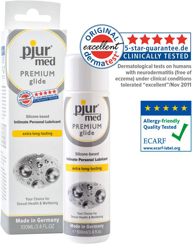 Lubrificante pjur Med Premium glide - 100 ml (a base di silicone)