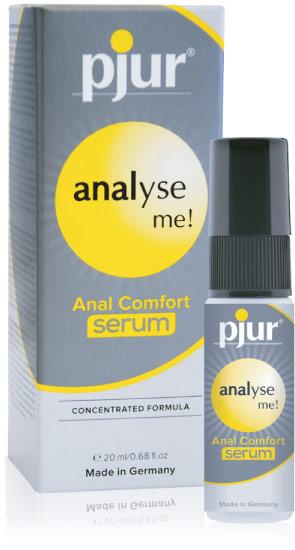 Sérum désensibilisant anal pjur Analyse Me - 20 ml
