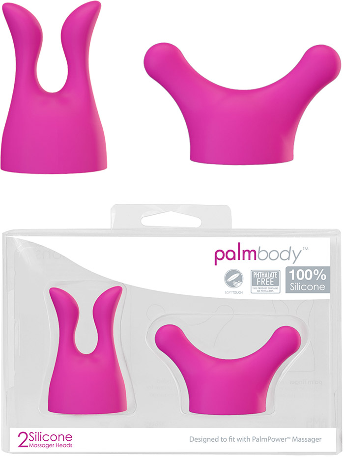 Embouts PalmBody (pour vibromasseurs PalmPower)