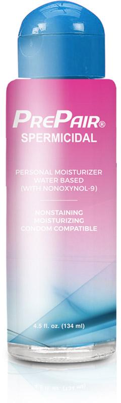 Lubrificante spermicida a base d'acqua Prepair - 134 ml (a base d'acqua)