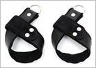 Menottes de suspension en cuir Rimba pour poignets