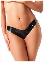 Rimba Latex Panties - Black (M)