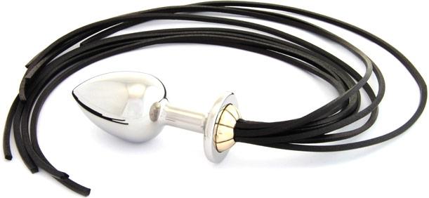 Plug anal et fouet Rosebuds Whipbud (XL)