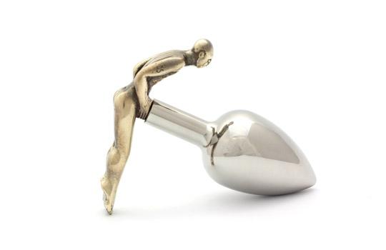 Rosebuds Fessman Analplug - Bronze (L)