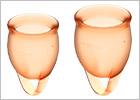 Satisfyer Feel Confident - Menstruationsbecher (2 St.) - Orange