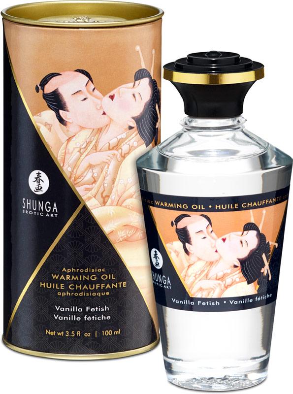 Olio riscaldante e afrodisiaco Shunga - Vaniglia