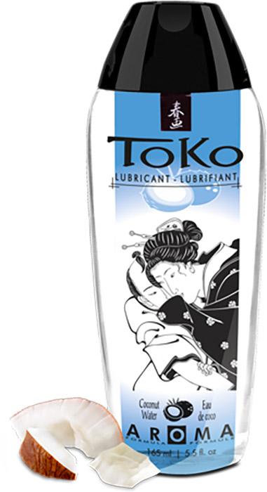Lubrificante Shunga Toko Aroma - Acqua di cocco (a base d'acqua)