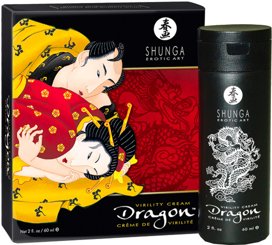 Shunga Dragon Virilitäts-Creme - 60 ml