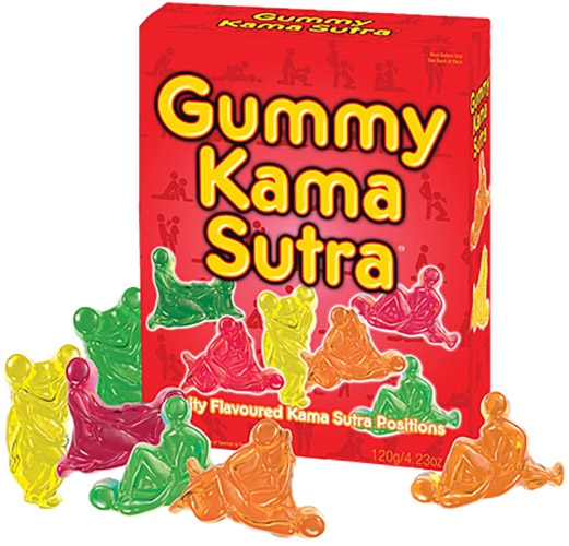 Caramelle a forma di posizioni sessuali Gummy Kama Sutra