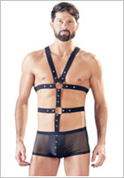 Svenjoyment men's boxers with harness (M)