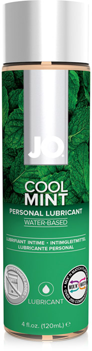 System JO H2O Lubricant - Mint - 120 ml (water based)