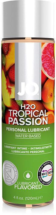 Lubrifiant System JO H2O - Fruits tropicaux - 120 ml (à base d'eau)