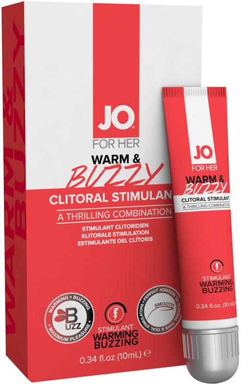 System JO Warm & Buzzy clitoral gel - 10 ml