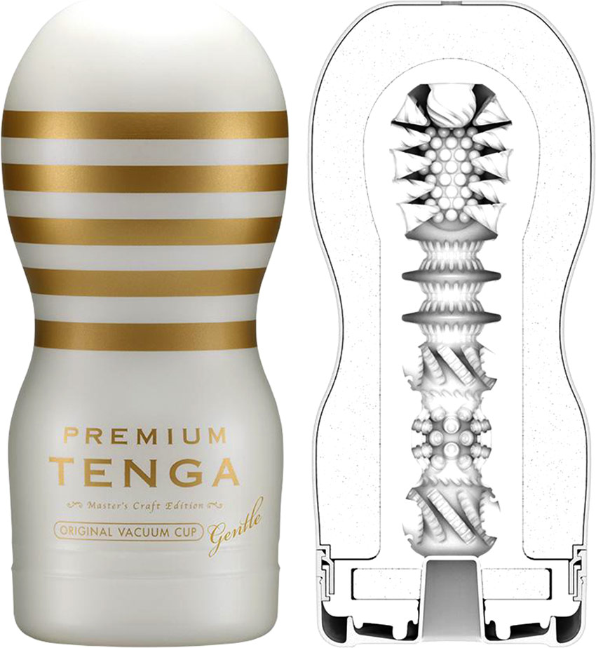 Masturbatore Tenga Premium - Original Vacuum Cup - Gentle