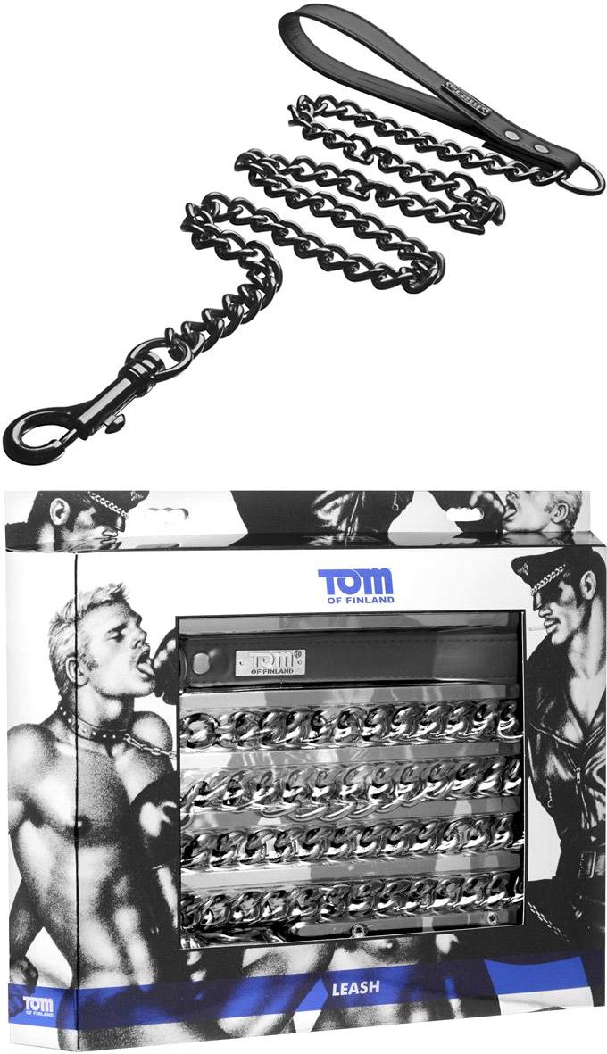 Tom of Finland Führkette mit Karabinerhaken