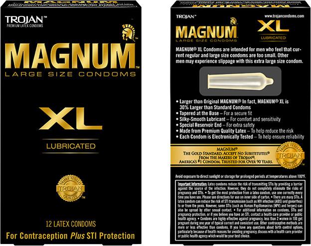 Trojan Magnum XL Condom (12 Condoms)