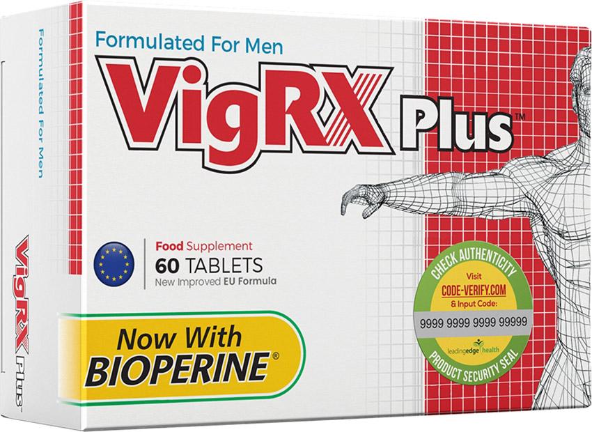 Stimolante sessuale da uomo VigRX Plus (60 capsule)