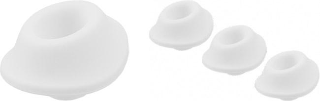 Testine di ricambio Womanizer - L - Bianco (3x)