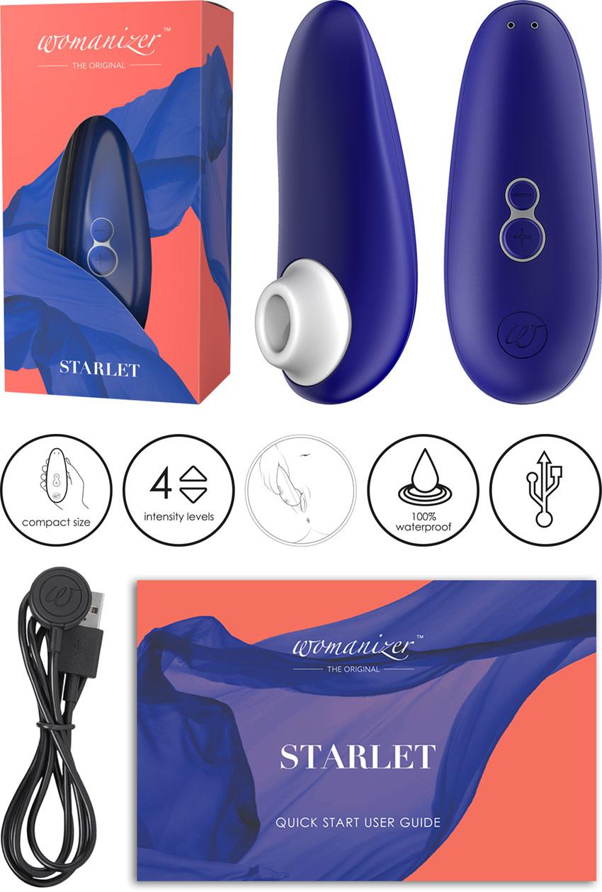 Womanizer Starlet 2 - Sapphire blue