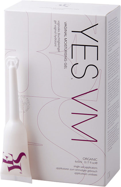 Lubrificante e idratante biologico Yes VM - 6 x 5 ml (a base d'acqua)