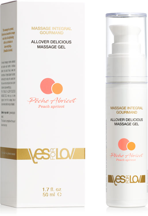 YesForLov massaggio integrale goloso - 50 ml (a base d'acqua)
