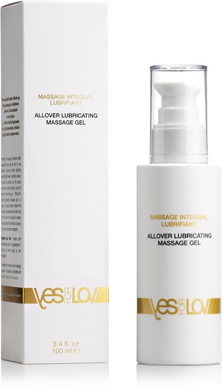 YESforLOV Allover Lubricating Massage Gel - 100 ml (silicone based)